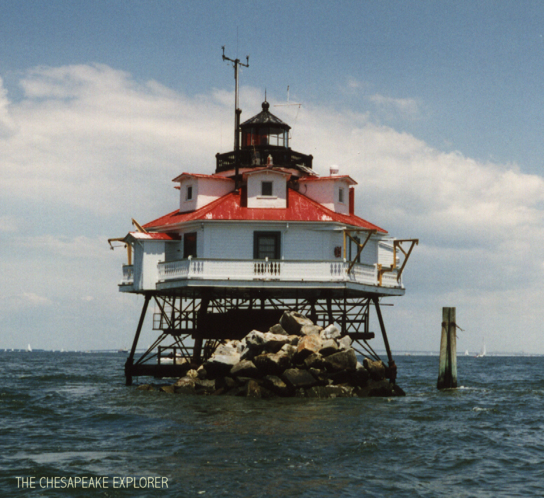 The Chesapeake Explorer-The Light Houses Of The Bay